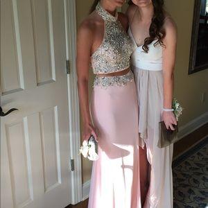Jovani Two Piece Prom Dress